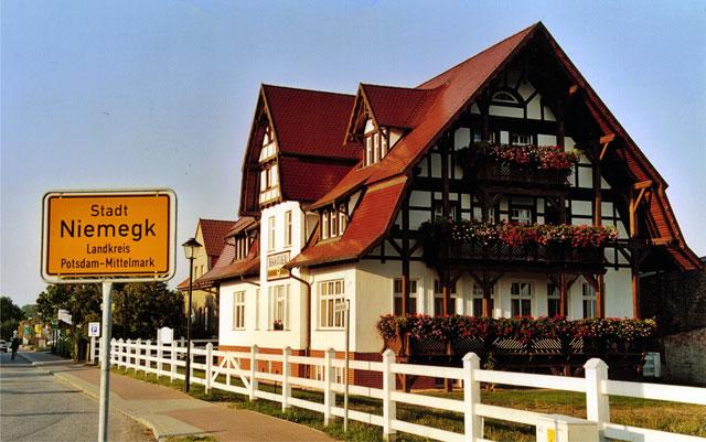 Anfahrt Hotel und Gasthaus zum alten Ponyhof in Niemegk